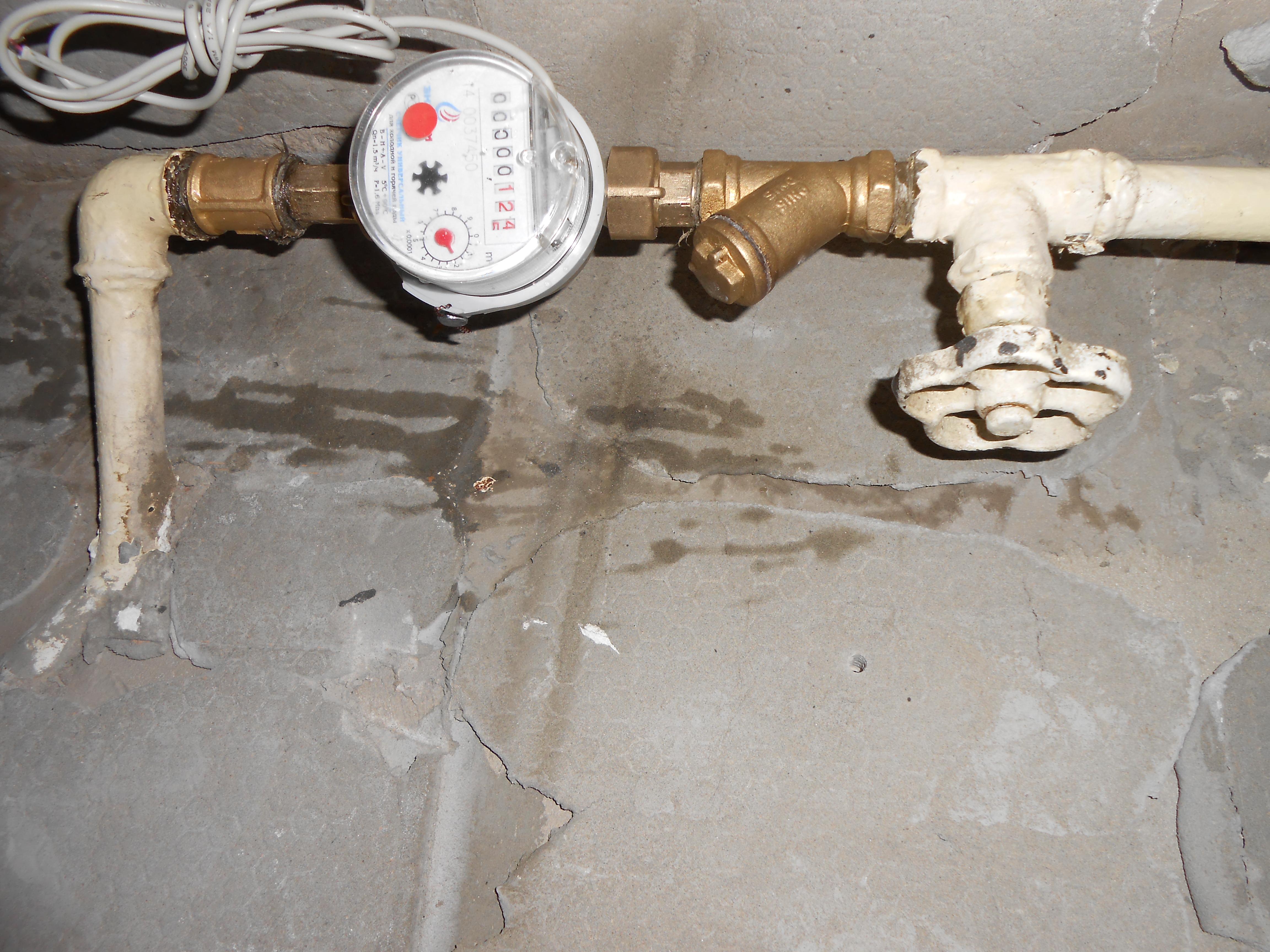 Установка счетчиков воды в ЮАО г. Москвы